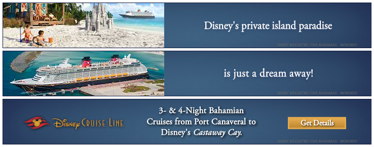 Set sail on a Disney Cruise Vacation
