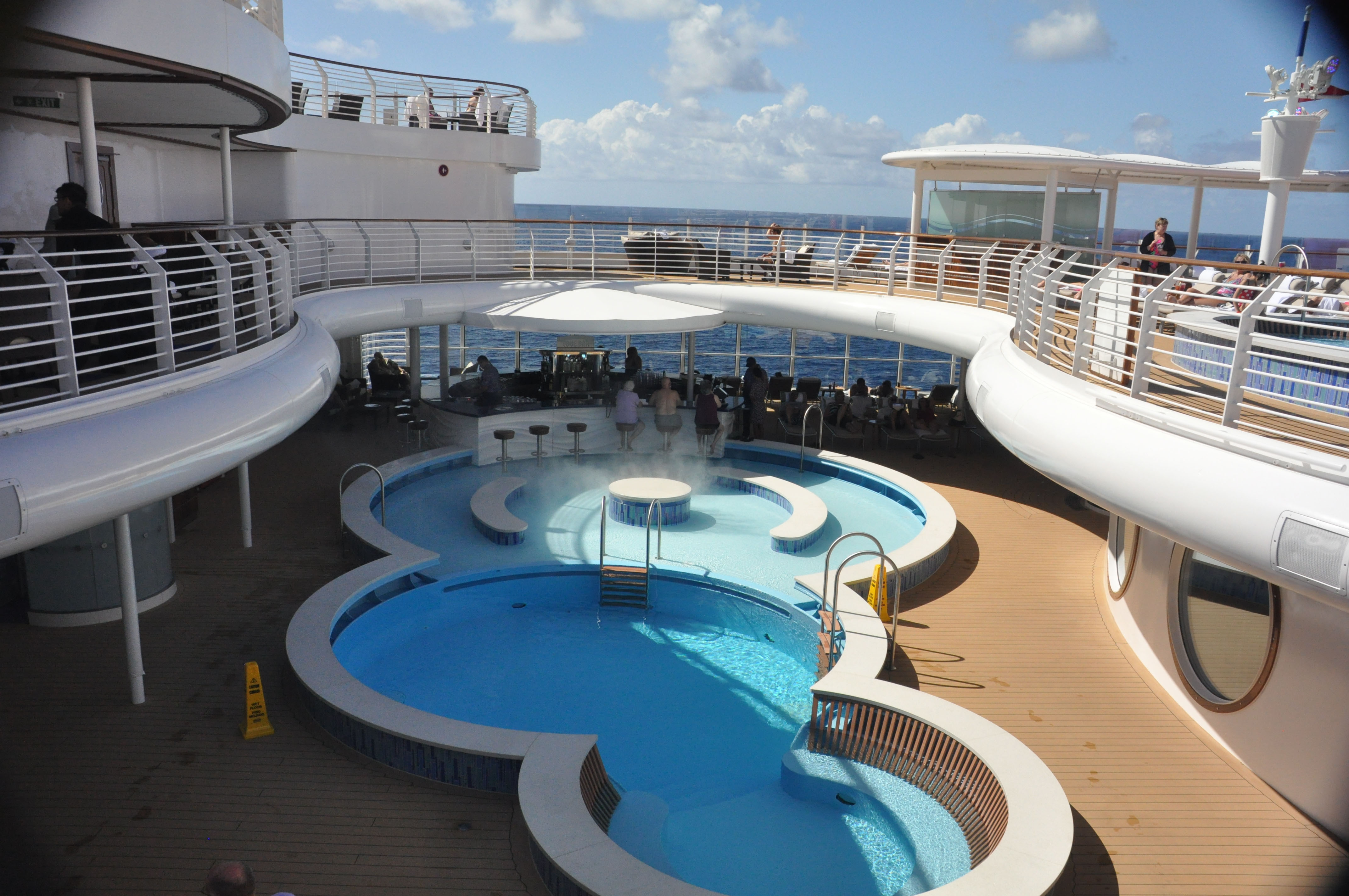 Disney Fantasy's Adult Only Quiet Cove Pool And Cove Bar