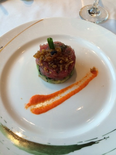 Carioca's Ahi Tuna and Avocado Tower