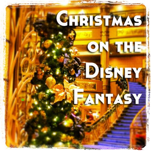 Christmas On The Disney Fantasy