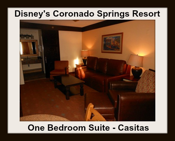 Coronado Springs Resort One Bedroom Suite