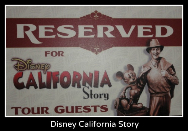 Disney California Story Tour