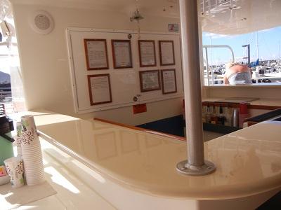Catamaran bar