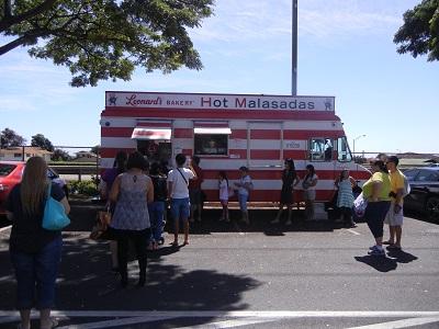 Leonard's malasadas truck