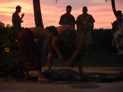 Uncovering the kalua pig