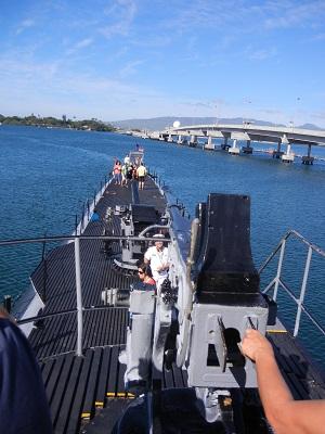 Submarine deck