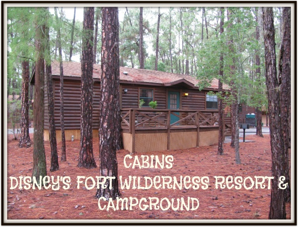 Cabins At Disney 39 S Fort Wilderness Resort Campground