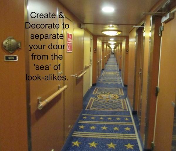 Disney Cruise Line Stateroom Door Decorating