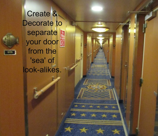 Disney Cruise Line Stateroom Door Decorating