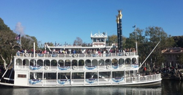 Mark Twain Steamboat during the day