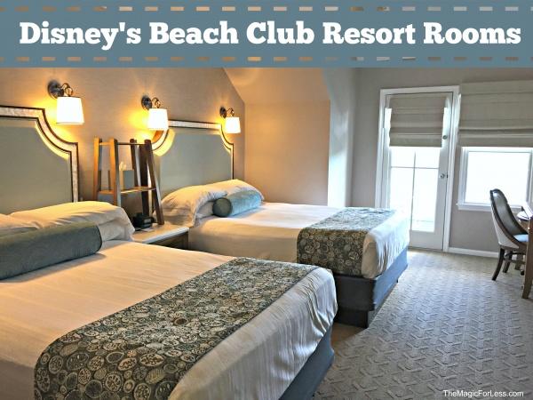 Disney S Beach Club Resort Rooms Renovated Photo Tour