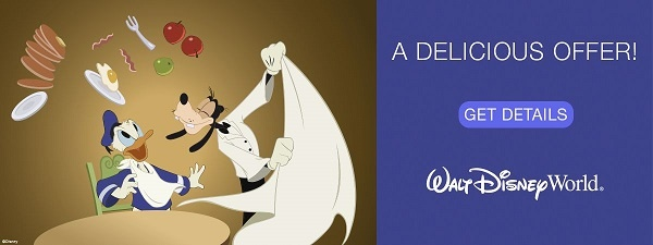 Walt Disney World Resort Free Disney Dining Plan Offer