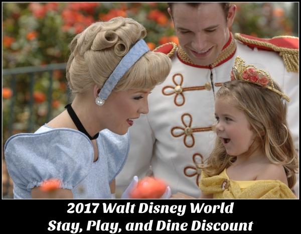 Walt Disney World Stay Play & Dine Discount