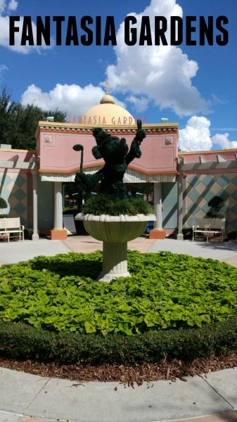 Walt Disney World Fantasia Gardens