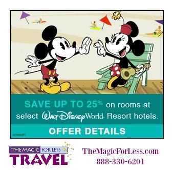 Walt Disney World Spring Discount