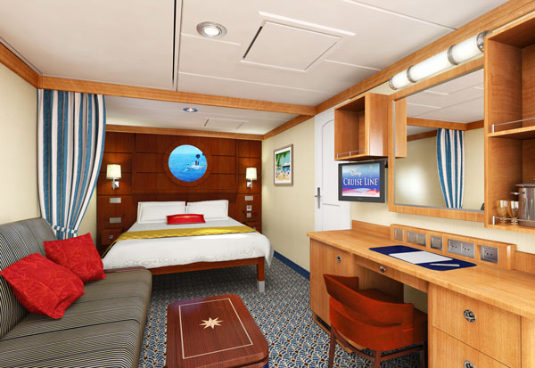 Dream And Fantasy Staterooms Disney Cruise Line Cabins