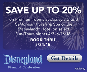 Disneyland Resort Savings