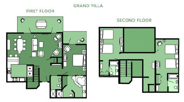 bedroom villa saratoga springs disney likewise villas at disney 39 s