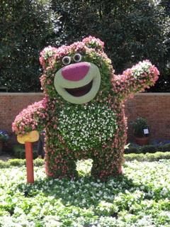 Epcot International Flower & Garden Festival Topiaries