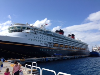 Spring Break on the Disney Wonder