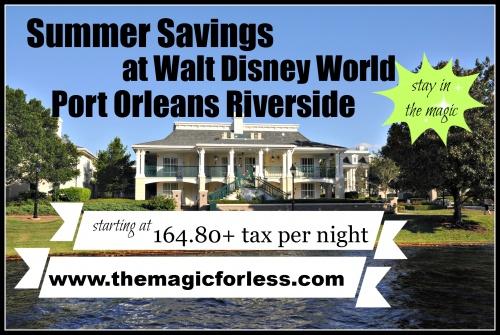 Walt Disney World Deal! Save up to 30% on Summer Travel!
