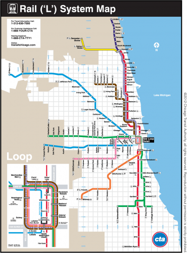 Getting around Chicago as a tourist