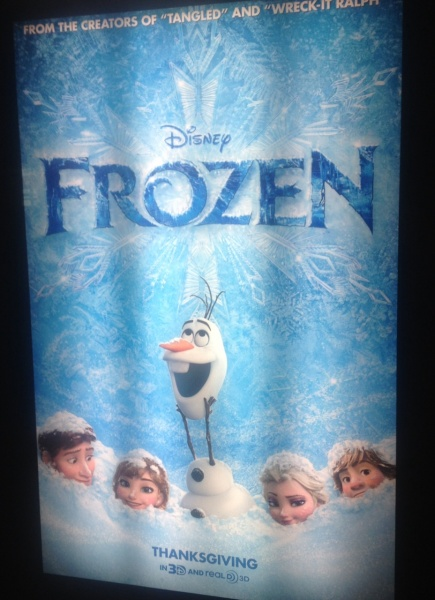 """Frozen"" Movie Preview Review"