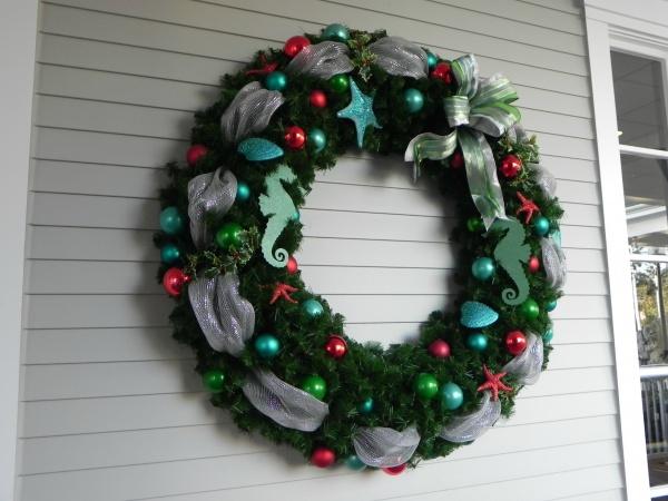 Beach Club wreath