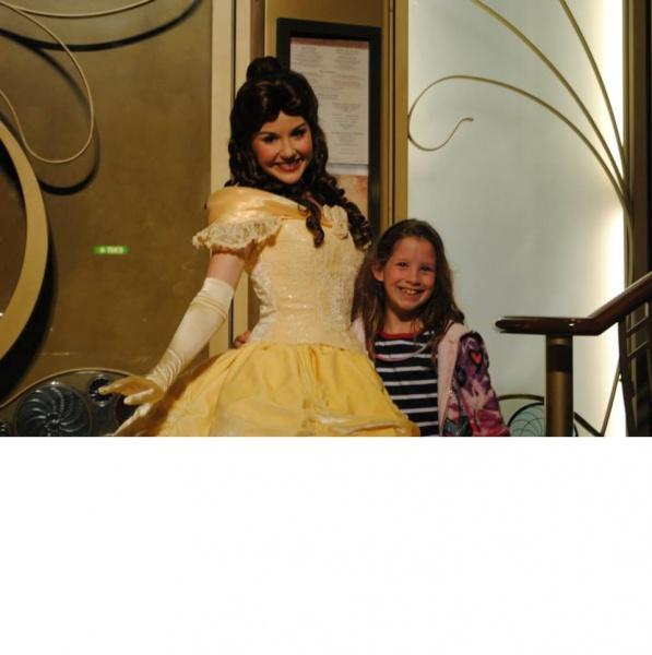 Belle on Disney Cruise Line