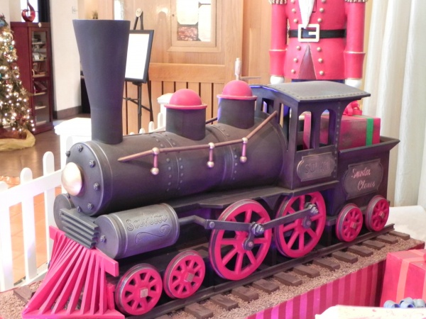 Chocolate Train from Swan Display