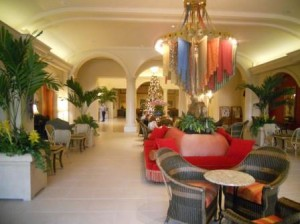 Loews Portofino Bay Hotel Lobby area