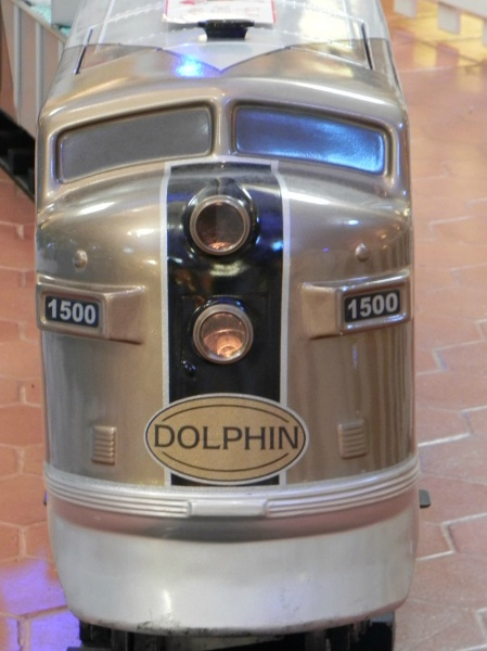 Engine of the Dolphin Train