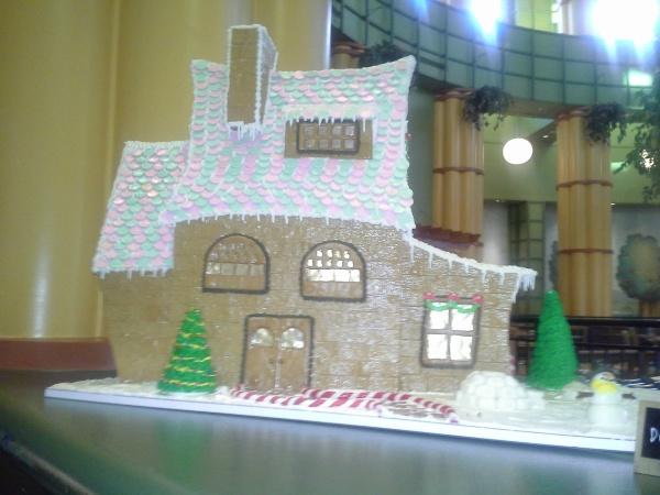 Gingerbread House from Garden Grove