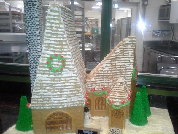 Gingerbread House at Garden Grove