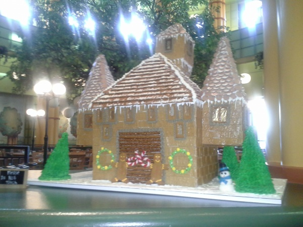 Gingerbread House located in the Garden Grove