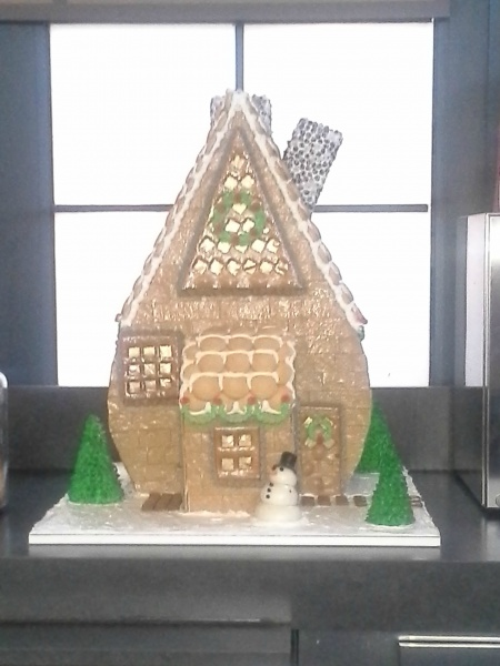 Gingerbread House from the Java Bar at the Swan