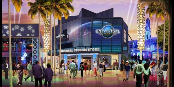 Universal Orlando's CityWalk Expansion in  2014!