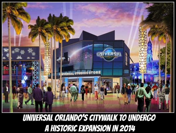 Universal CityWalk expansion