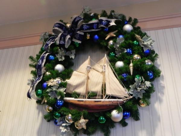Yacht Club wreath