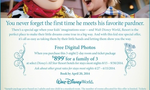 Save Now on Fall Travel Dates to the Walt Disney World Resort