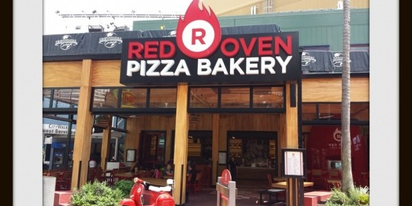 Universal Orlando Citywalk Red Oven Pizza Bakery