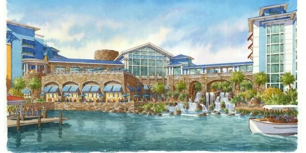 NEW HOTEL FOR UNIVERSAL ORLANDO RESORT – SAPPHIRE FALLS