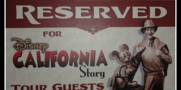 Our experience on the Disney California Story Tour