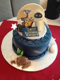 Wall E Celebrates A Childs Birthday