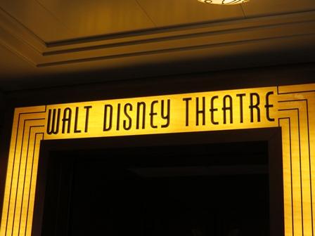 Walt Disney theater