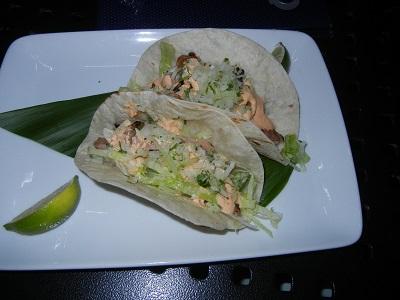 Fish tacos at Off the Hook