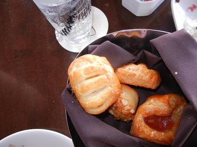 Hawaiian Flavors bread basket