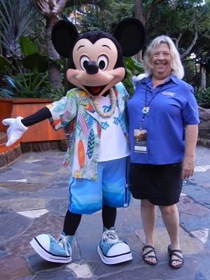 Mickey and I at Aunty's Breakfast Celebration