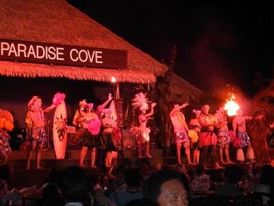 Paradise Cove dancers
