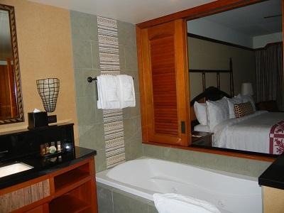 Parlor suite master bath